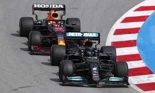 Hamilton pega Verstappen na tática: assista aos melhores momentos do GP da Espanha