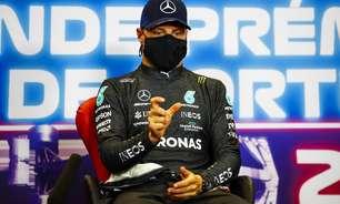 """Bottas nega má intenção com Hamilton, mas diz: """"Não estou aqui para deixar passar"""""""