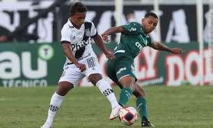 Aos 17 anos, zagueiro Michel estreia como profissional do Palmeiras