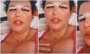 Diva trans Luisa Marilac faz cirurgia para salvar os seios