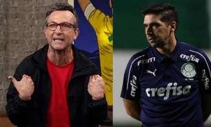 Neto corneta Palmeiras e ironiza Abel após classificação suada no estadual: 'Está virando Champions League'