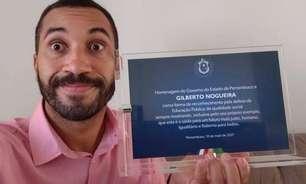 'BBB 21': Gilberto ganha 'homenagem vigorosa' do Estado de Pernambuco