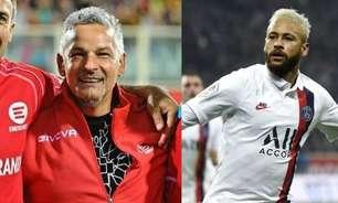 Baggio dá declaração nada amistosa sobre comentaristas e ganha apoio de Neymar: 'Aleluia! Alguém sensato'