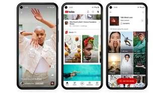 YouTube lança fundo de US$ 100 milhões para concorrer com TikTok