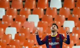Barcelona e Messi dão início ao processo de renovação