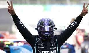 """""""Agressivo quando necessário"""": Hamilton explica cautela na largada na Espanha"""