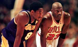 Michael Jordan exibe última conversa com 'irmão' Kobe Bryant