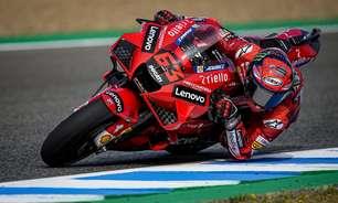 Líder da MotoGP, Bagnaia vê Ducati em bom momento e espera melhora em Le Mans
