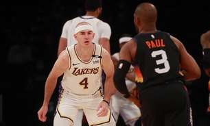 Técnico do Lakers pede Caruso em times ideais de defesa
