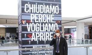 Itália tem 7.852 novos casos e 262 vítimas de Covid em 24h