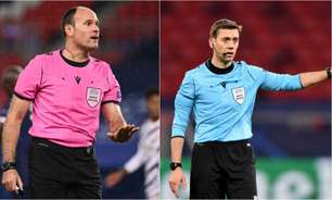 Uefa divulga arbitragem das finais de Champions League e Liga Europa
