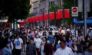 """População da China atingirá """"ponto de inflexão"""" em 2026-2030, diz entidade"""
