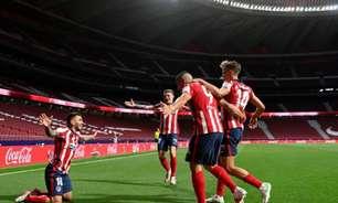 Atlético de Madrid bate a Real Sociedad e fica mais próximo do título espanhol