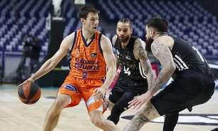 Liga ACB: Valencia derruba invencibilidade de 17 partidas do Real Madrid