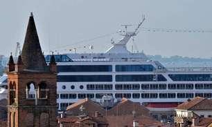 Câmara aprova projeto para vetar grandes navios em Veneza