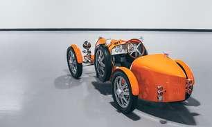 Bugatti lança carro de brinquedo de R$ 190 mil