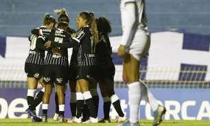 Corinthians goleia o São José e se recupera no Brasileirão feminino; Palmeiras ganha e se mantém na ponta