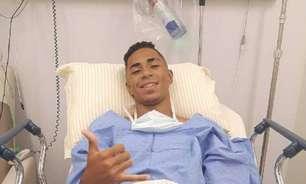 Promessa do Santos, Felipe Laurindo passa por cirurgia no joelho