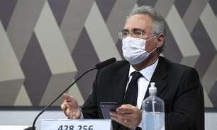 """Renan diz que resposta a Bolsonaro é o """"número de mortos"""""""