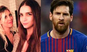 Irmã de Wanda Nara, esposa de Icardi, diz que deu 'toco' em Messi