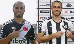 Finalistas da Taça Rio, Botafogo e Vasco reformularam seus elencos, mas divergiram em estratégias