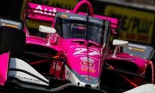 Rossi desbanca VeeKay e lidera TL1 do GP de Indianápolis. Grosjean fecha no top-5