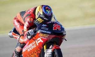 Rodrigo mostra força e lidera primeiro dia de treinos da Moto3 na França. Acosta é 18º
