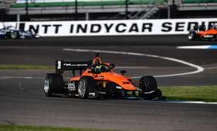 Lundqvist domina e vence corrida 1 da Indy Lights no misto de Indianápolis