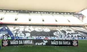 CUFA e Corinthians fazem campanha para arrecadar 200 toneladas de alimentos em uma semana