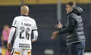 Mancini admite 'vergonha' em derrota do Corinthians, mas pondera: 'Foi um acidente de percurso'