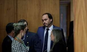 Senador pede para convocar Carlos Bolsonaro à CPI da Covid