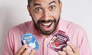 Gil do Vigor vira garoto-propaganda de marca de laticínios