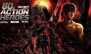 Call of Duty Warzone e Mobile ganham Rambo e John McLane jogáveis