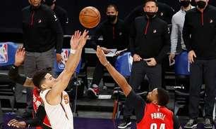 Devin Booker decide no fim e Suns vence Blazers