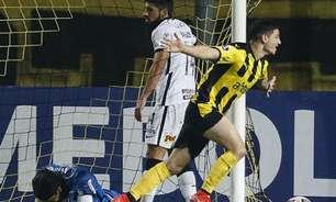 Bruno Méndez lamenta goleada sofrida pelo Corinthians: 'Não pode levar quatro'