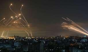 Conflito entre Israel e palestinos: a impressionante foto que mostra luta entre Domo de Ferro de Israel e mísseis do Hamas