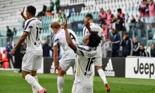 Com um a menos e dois gols de Cuadrado, Juventus vence a Inter de Milão e entra no G4 do Italiano