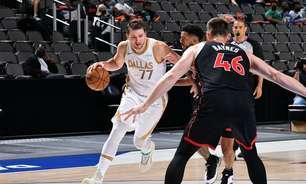 Mavericks vence Raptors e garante vaga nos playoffs