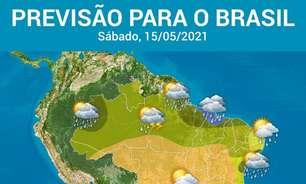 Atenção para muita chuva em capitais do Norte e Nordeste