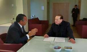 Berlusconi deixa hospital de Milão após tratamento pós-Covid
