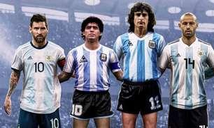 Fifa gera debate na web após eleger as lendas da Argentina; treinador do São Paulo está na lista