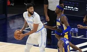 Lakers vence Pacers e segue vivo em busca de vaga direta nos playoffs