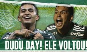 Palmeiras anuncia o retorno de Dudu ao clube após Al-Duhail não exercer o direito de compra do atacante