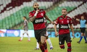 Fluminense empata com outros três times e se torna a maior vítima de Gabigol com a camisa do Flamengo