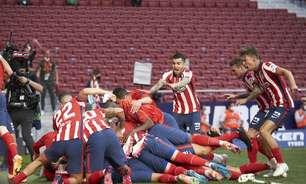 Atlético vence Osasuna e segue na disputa pela La Liga