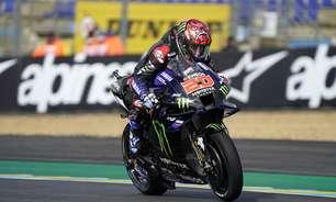 Por 1 ponto, Quartararo reassume liderança da MotoGP. Confira classificação