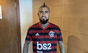 Vidal inclui o Flamengo na lista dos quatro times que deseja defender quando deixar a Europa