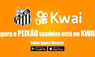 Santos cria perfil oficial no Kwai, aplicativo de vídeos