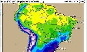 Chuva no final do mês irá ajudar a repor umidade do solo