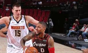 Blazers derrota Nuggets e empurra Lakers para o play-in